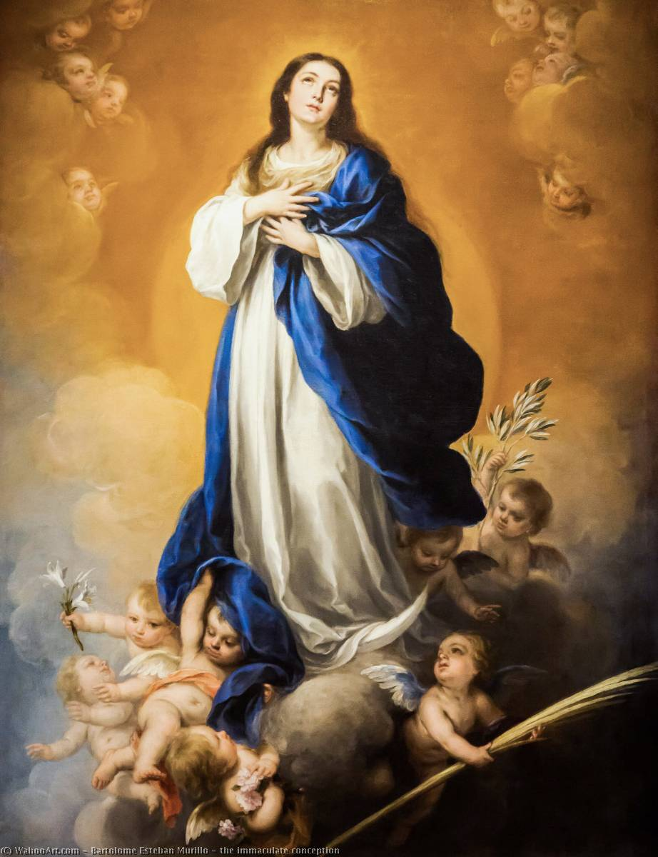 Bartolome Esteban Murillo the immaculate conception