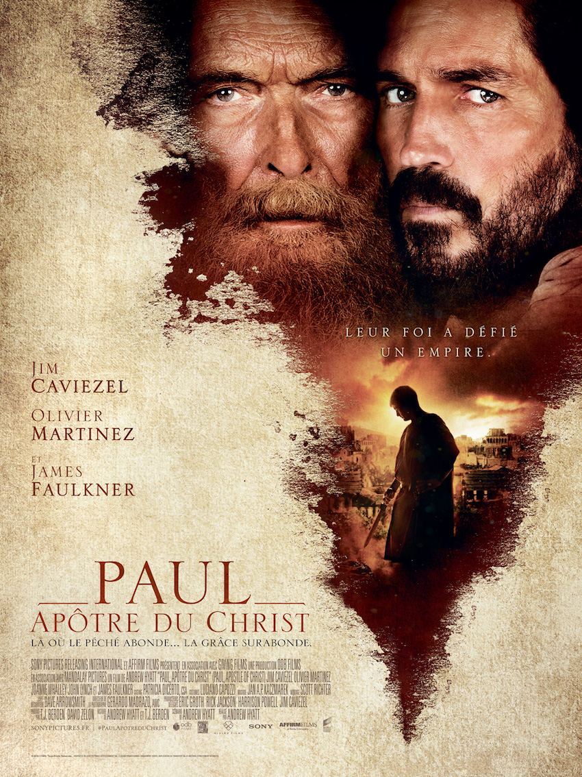 affiche film Paul apotre du christ
