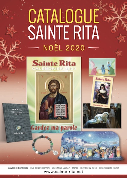catalogue sainte rita noel 2020