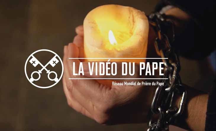 video pape janvier 2018