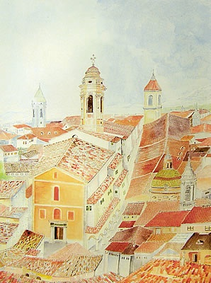 Illustration de l'église Sainte Rita