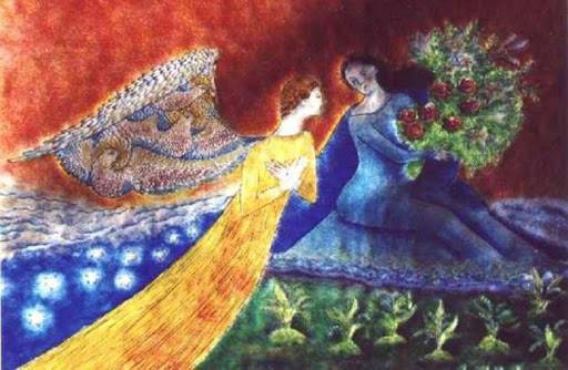 Chagall Annonciation