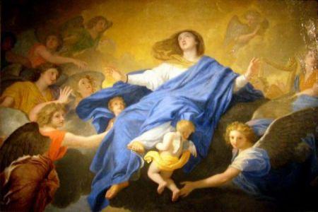 Le Brun assomption de la vierge