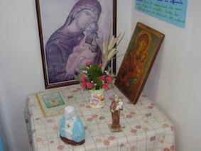 Un coin de prière