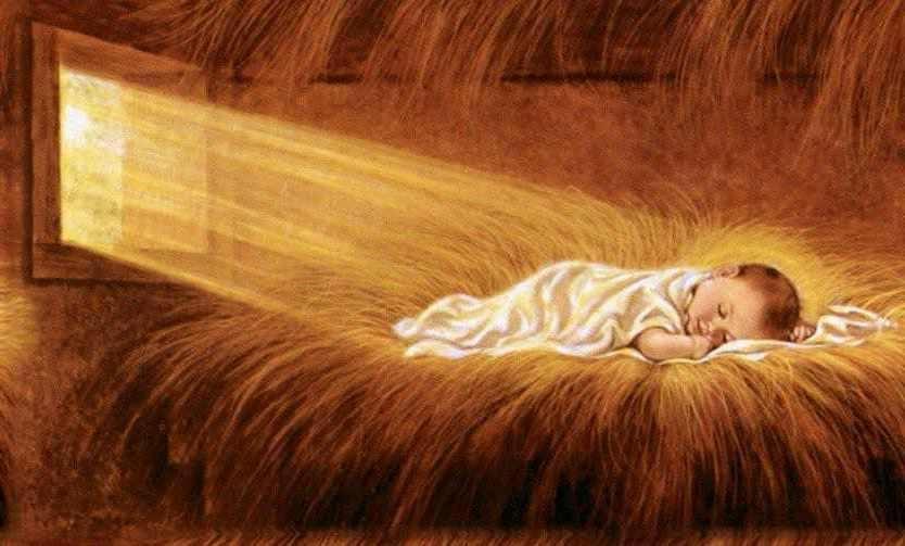 enfant jesus paille