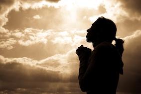 femme-priere