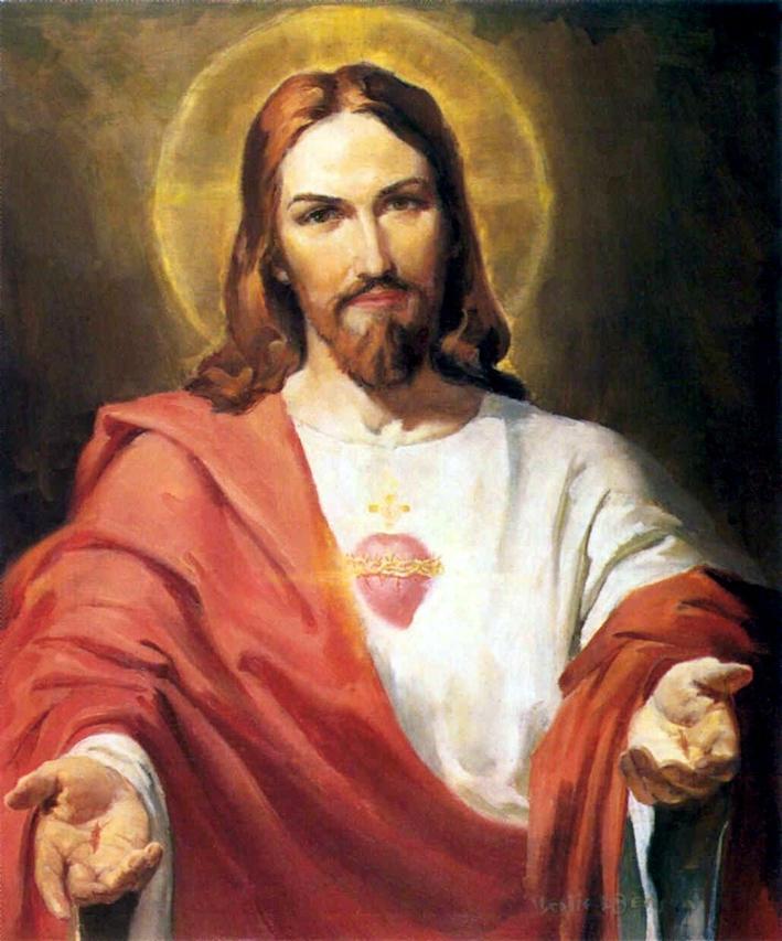 Prière au Sacré Cœur de Jésus
