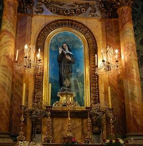 Chapelle de Sainte Rita à Nice